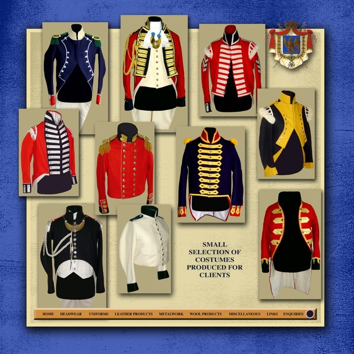 Napoleonic Uniforms http://www.napoleonic-uniforms.co.uk/Uniforms.html